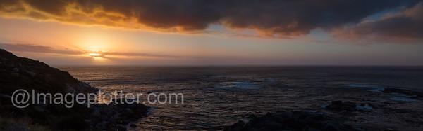 Sunset Panorama, Cape Peninsula