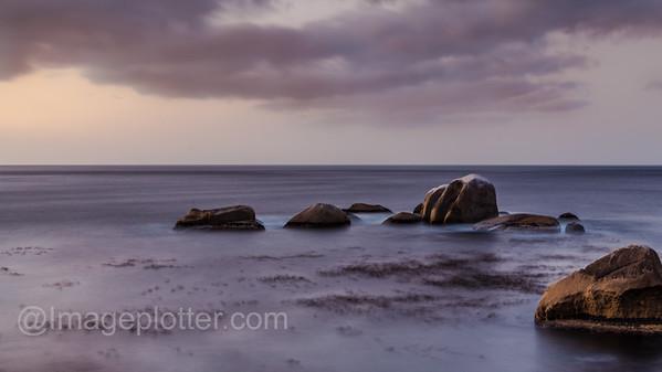 Sunset near Camps Bay, Cape Peninsula, South Africa