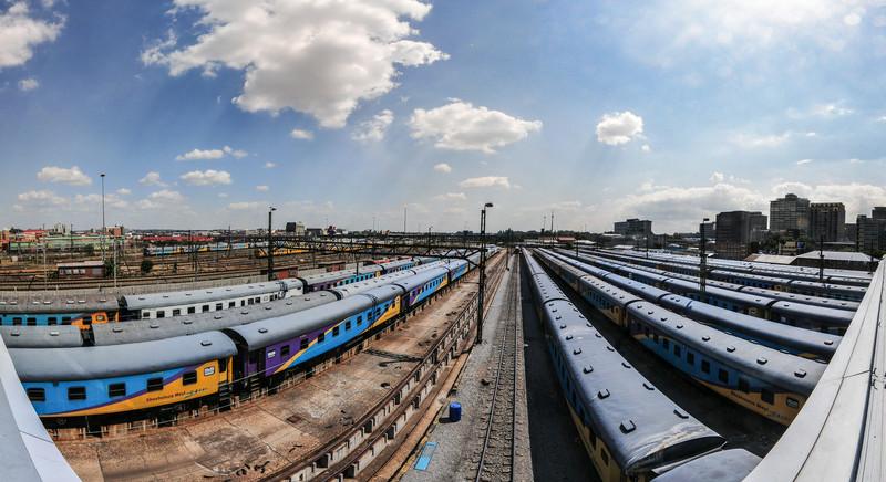 Johannesburg - Newtown Rail Yards