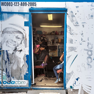Busy Hairdressing Salon, Imizamo Yethu Township (Mandela Park), Cape Peninsula, South Africa