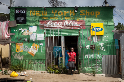 New York Shop, Imizamo Yethu Township (Mandela Park), Cape Town, South Africa
