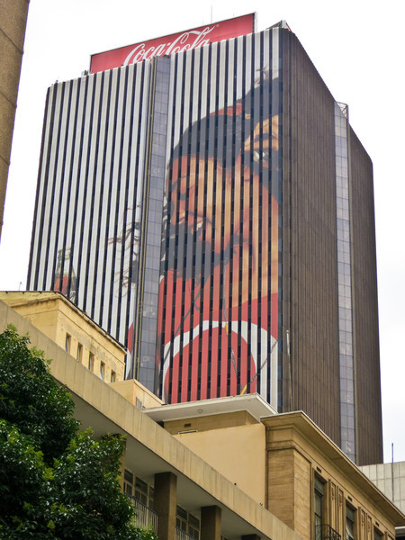 Coca-Cola Advertisement - Johannesburg, South Africa