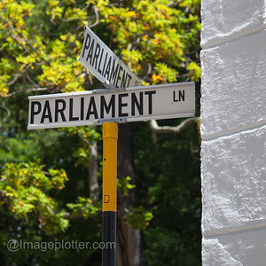 Parliament Street Sign, Cape Town, South Africa