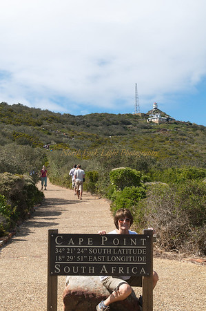 Susan at Cape Point