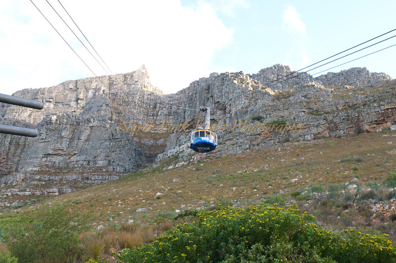Ride to top of Table Mountain