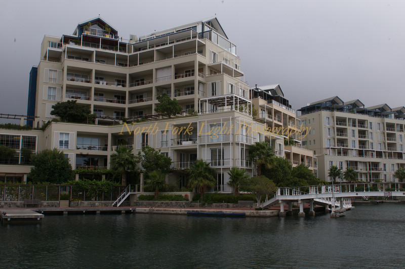 Luxury waterfront apartments in Capetown.
