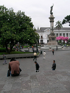 Quito - Plaza de la Independecia