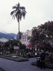 Quito - At the Plaza de la Independencia