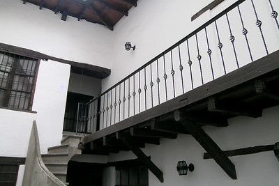 Quito - Outside Stairs