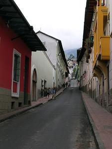 Quito - Street Scene