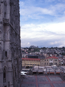 Quito - At the Feet of the Basílica