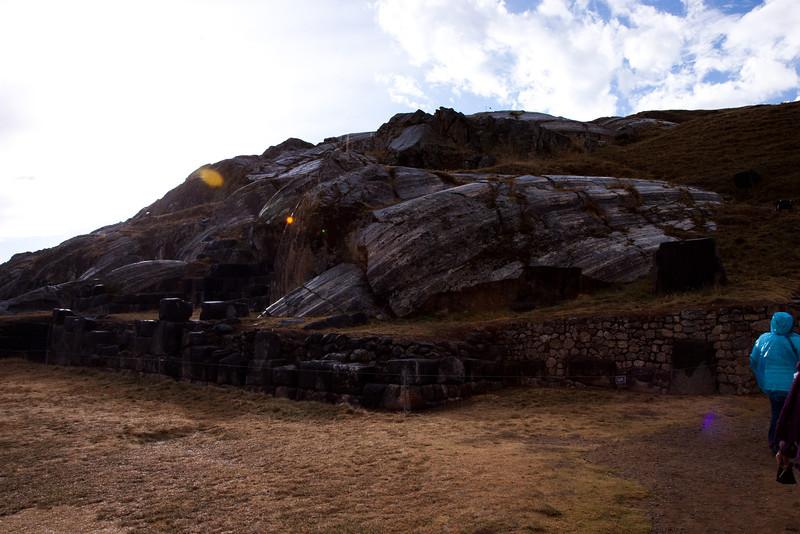 Rock quarry near Sacsayhuamán