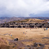 Wide view of Sacsayhuamán
