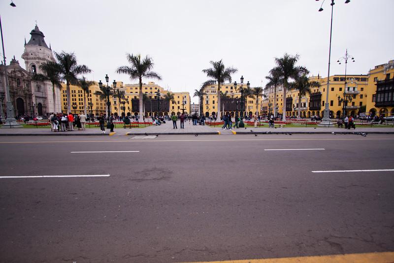 Plaza de Armas (the central square)