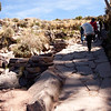 Isla Taquili - walking up this path was difficult, as this island on Lake Titicaca was 4000m above sea level