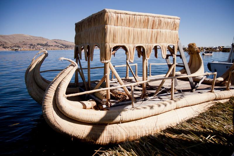 Reed boats