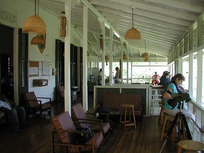 The veranda by Jeff Collins