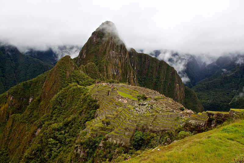Machu Picchu, rain and (some) shine
