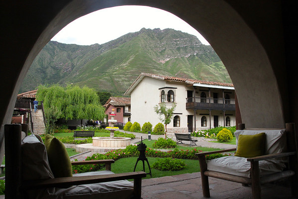 Former monastery in Yucay, now a hotel.