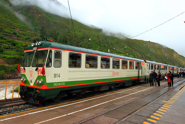 Train to Agua Calientes (and Machu Picchu)