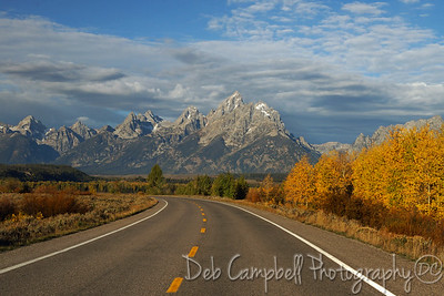 Driving in the Tetons Grand Teton National Park