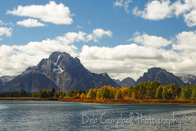 Oxbow Bend in Autumn Grand Teton National Park