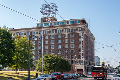 Historic Hotel Chisca being converted to condos...