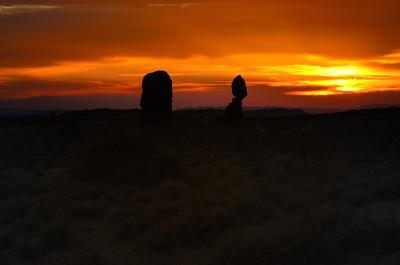 Balancing Rock at Sunset, Arches National Park