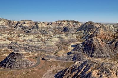 Blue Mesa, Painted Desert, Petrified Forest National Park