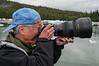 Dave and 200mm f/2 Nikon lens