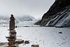 Inukshuk, Mendenhall Glacier, Nugget Falls