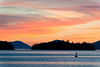 Sunset from Craig, Alaska