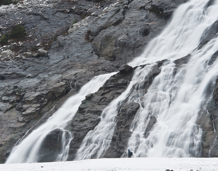 Nugget Falls, Mendenhall Lake