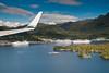 Ketchikan harbor and cruise ships