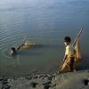 Boys fishing.
