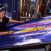 Batik artist at work.