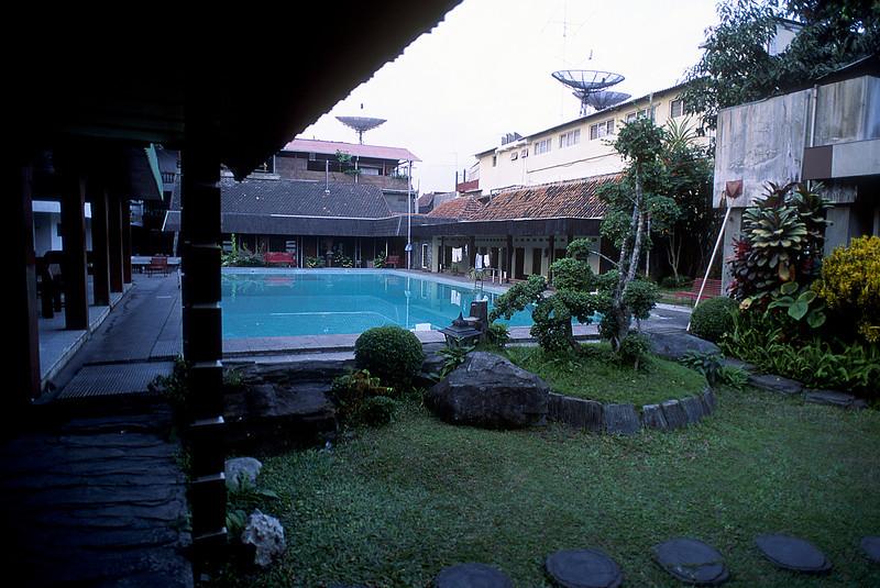 Our hotel in Yogyakarta.