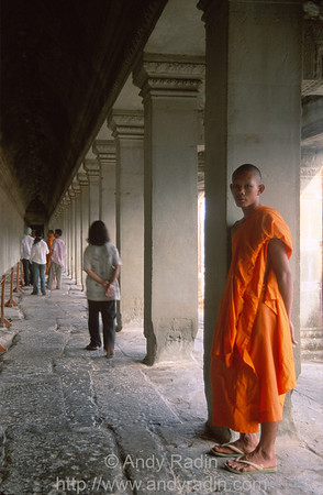 Monk in Angkor