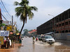 Arriving in Siem Reap just after a heavy rain