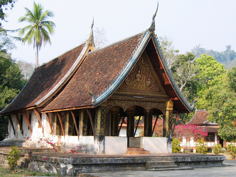 Wat in village across the river from Luang Prabang