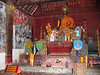 Inside wat in village across the river from Luang Prabang