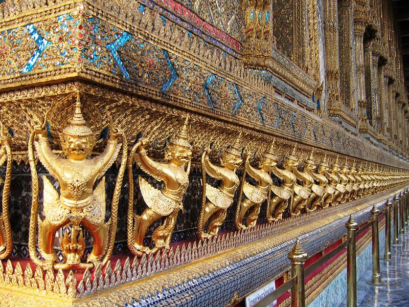 Golden Garudas, Grand Palace, Bangkok