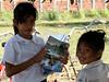 School girls - Vat Kong Moch School, Siem Reap