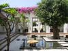 Hotel de la Paix courtyard, Siem Reap