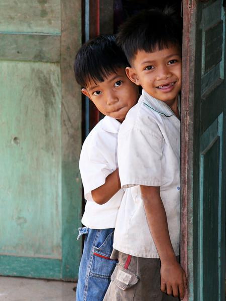School boys - Vat Kong Moch School, Siem Reap