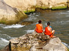 Monks by the Nam Khan River, Luang Prabang