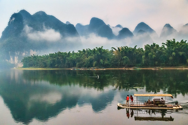 Viewing the Li River