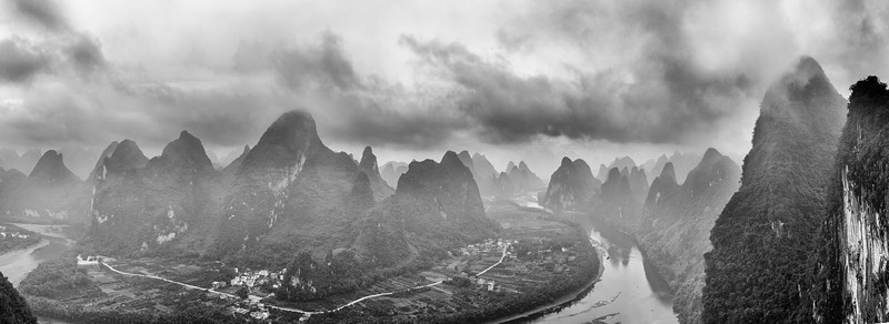 Li River Overlook_Pan