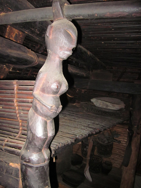 Woman decoration in hut
