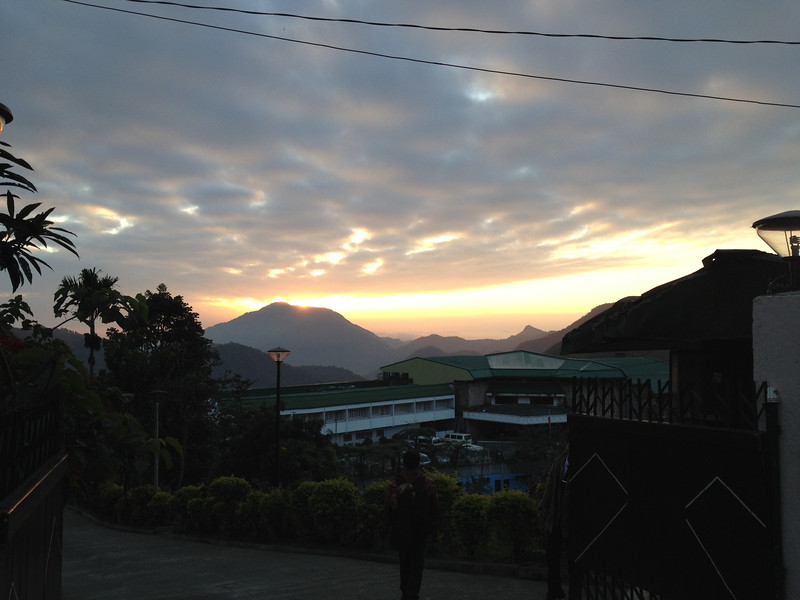 Sunrise in Banaue